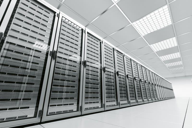 Sitio del servidor ilustración del vector