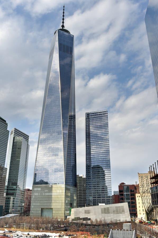 Sitio del World Trade Center - New York City imagenes de archivo