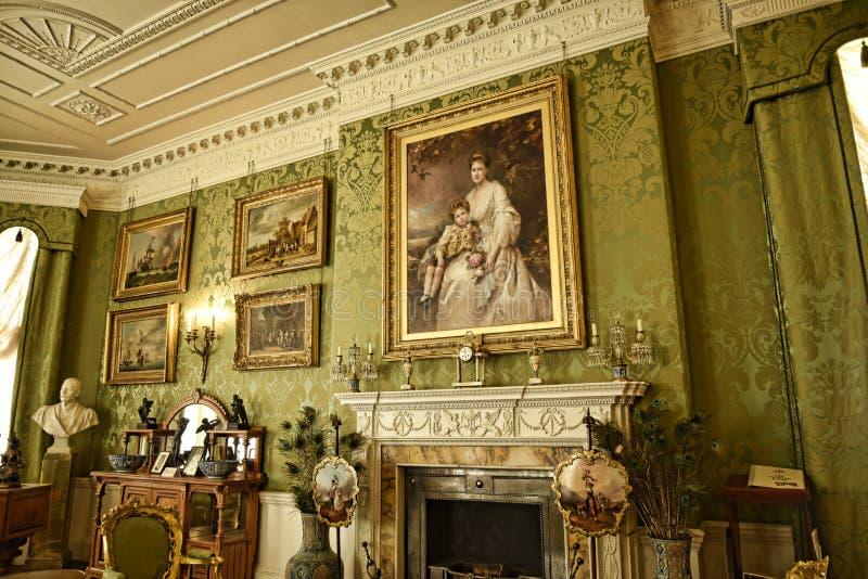 Sitio en una casa de campo hermosa cerca de Leeds West Yorkshire que no es una propiedad de confianza nacional imágenes de archivo libres de regalías
