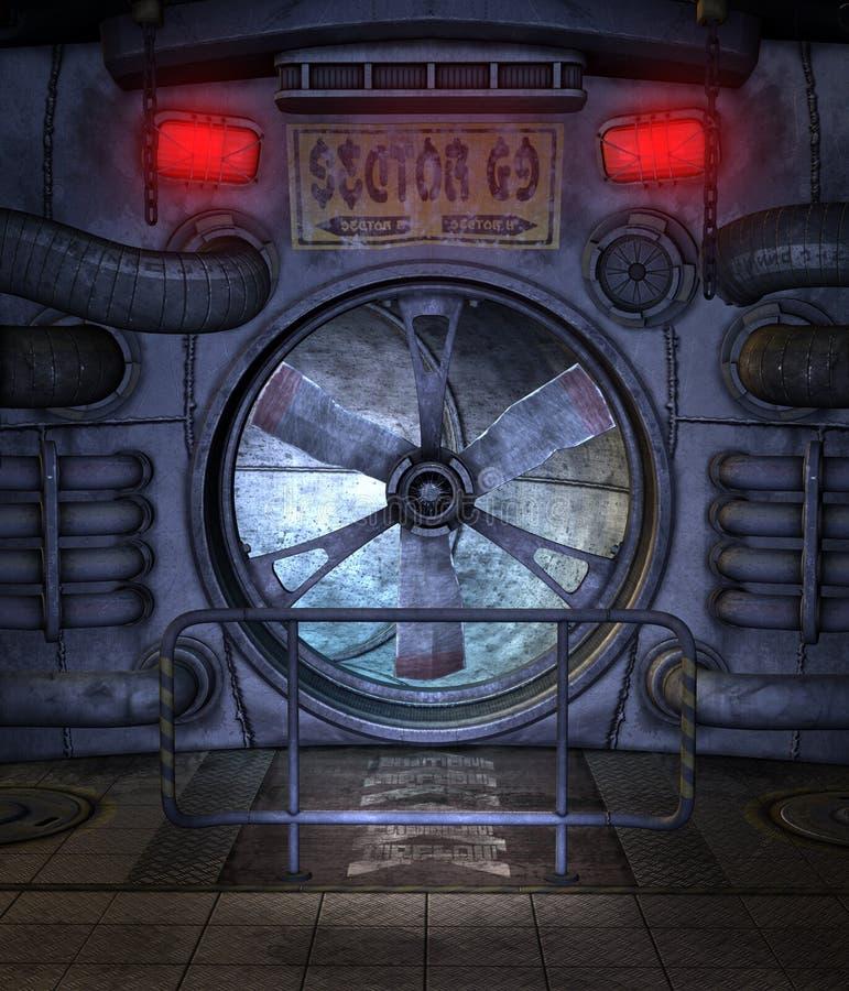 Sitio futurista 3 libre illustration