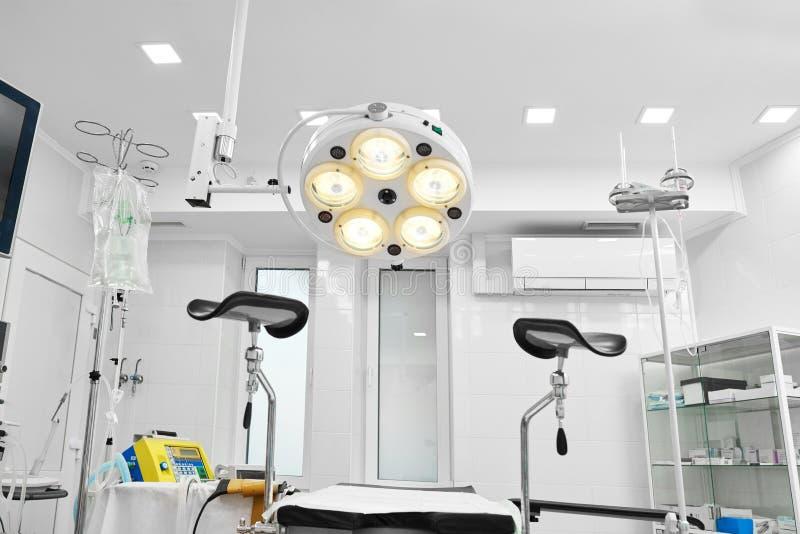 Sitio ginecológico en el hospital fotos de archivo