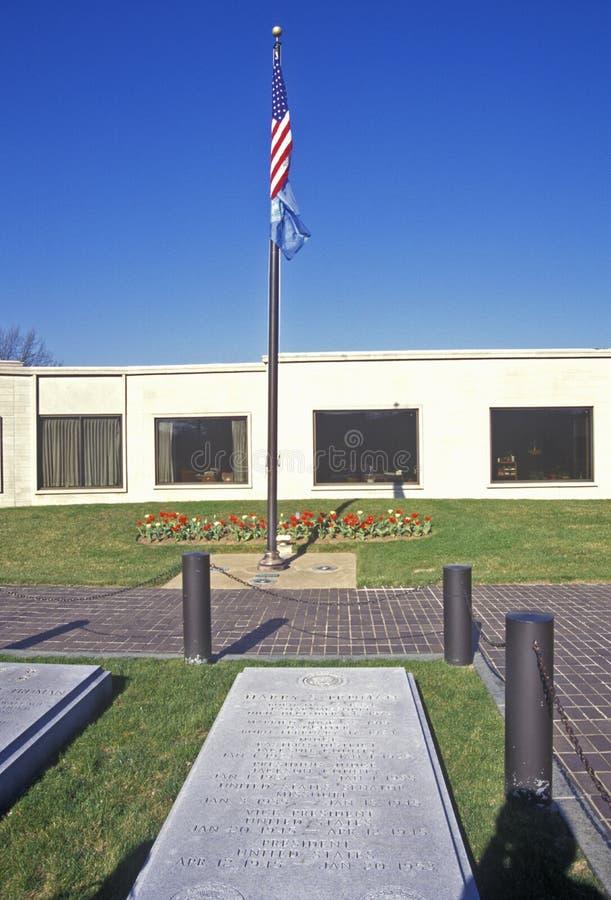 Sitio grave de presidente Harry S Truman, independencia, MES fotos de archivo libres de regalías
