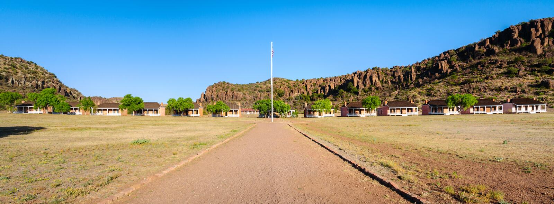 Sitio histórico nacional de Davis de la fortaleza imagen de archivo