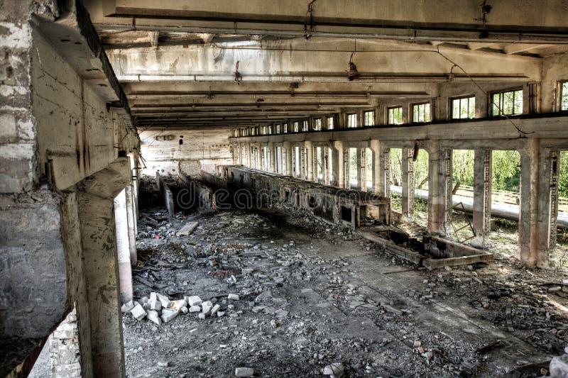 Sitio industrial vacío imagen de archivo