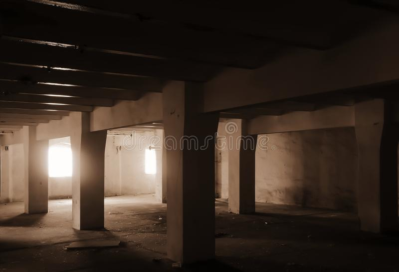 Sitio oscuro imagen de archivo libre de regalías