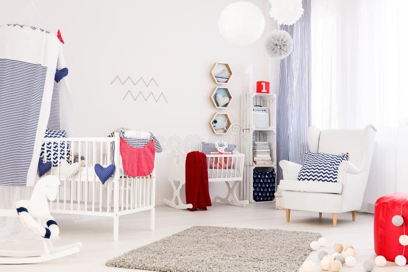 Sitio perfecto del bebé fotografía de archivo libre de regalías