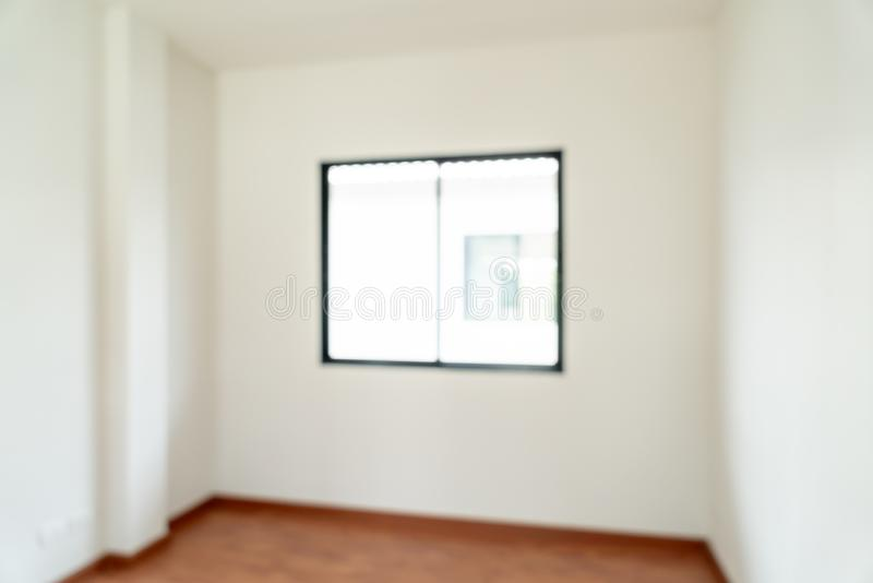 sitio vacío de la falta de definición del extracto con la ventana y puerta en hogar foto de archivo libre de regalías