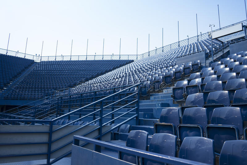 Sitio vacío en el estadio fotografía de archivo