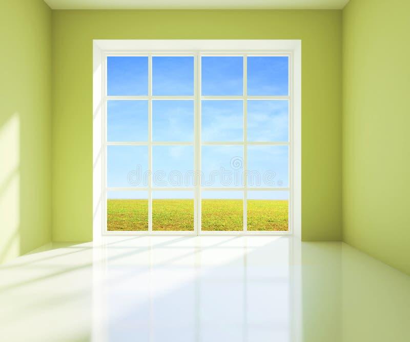 Sitio verde imagen de archivo libre de regalías