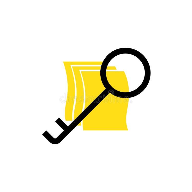 Sitio web abstracto del acceso del error de la conexión del fondo de los vectores stock de ilustración