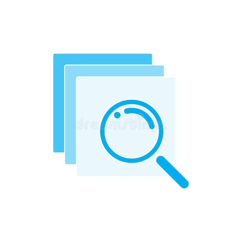 Sitio web abstracto del acceso del error de la conexión del fondo de los vectores ilustración del vector