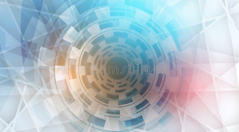 Sitio web digital abstracto ilustración del vector