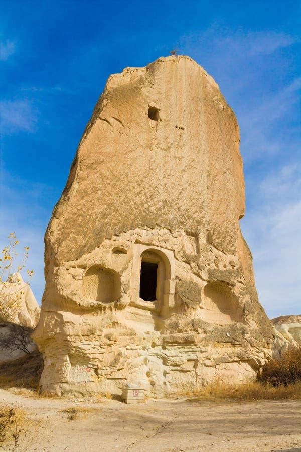 Sitios de Cappadocia, Kapadokya, Turquía de la roca foto de archivo