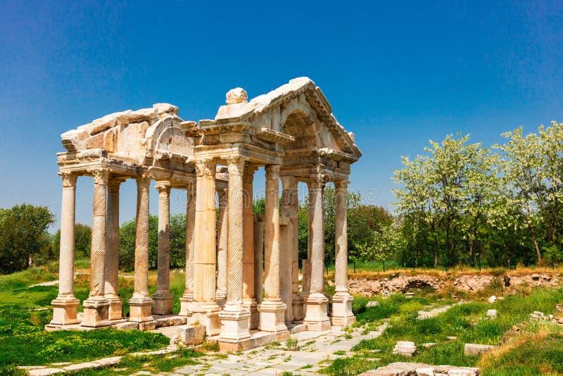 Sito archeologico di Afrodisia in Turchia fotografie stock