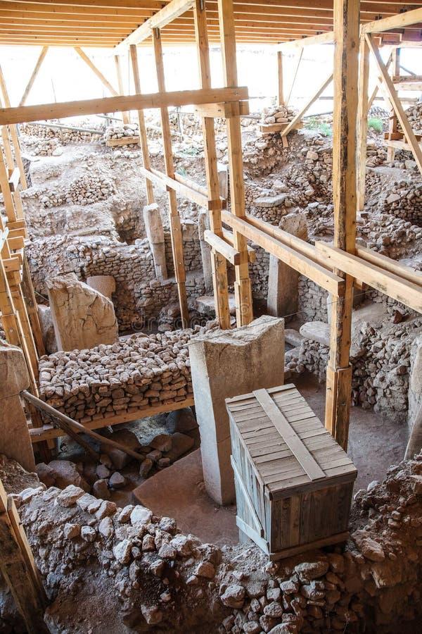 Sito archeologico Gobekli Tepe fotografia stock libera da diritti