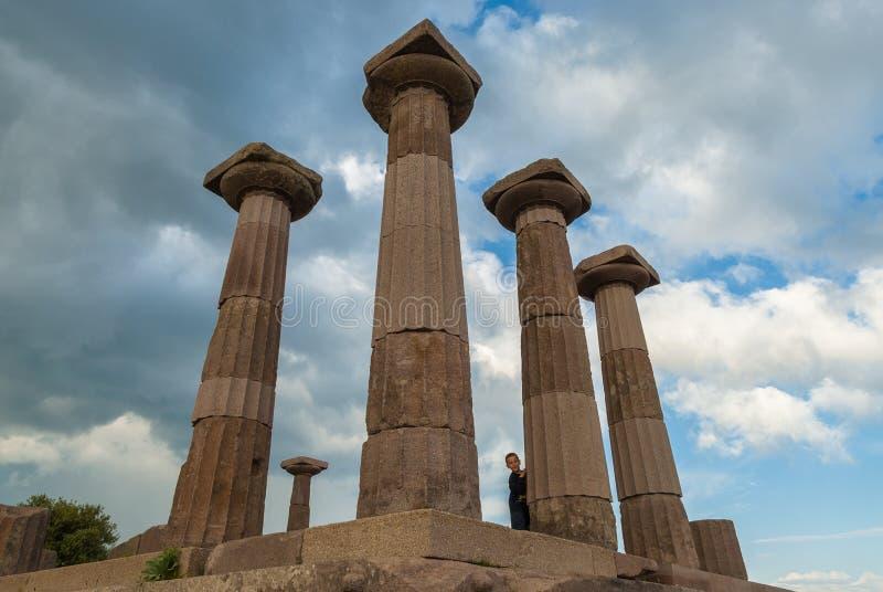 Sito archeologico in Turchia fotografia stock libera da diritti