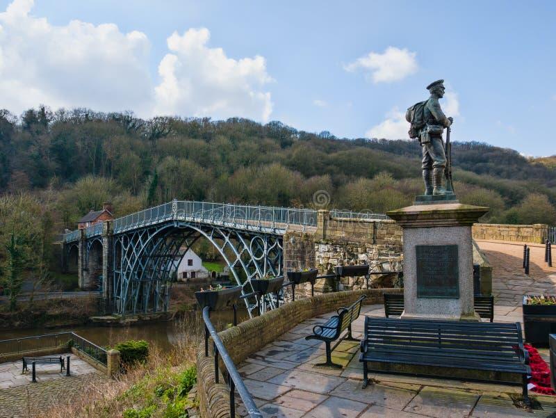 Sito del patrimonio mondiale di Ironbridge immagini stock