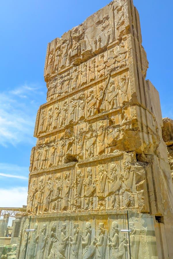 Sito storico 07 di Persepolis fotografia stock libera da diritti