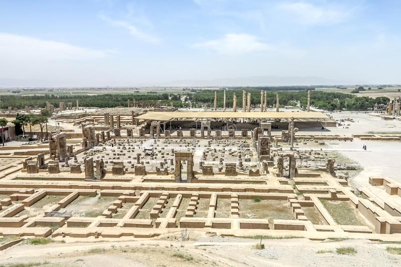 Sito storico 25 di Persepolis immagine stock