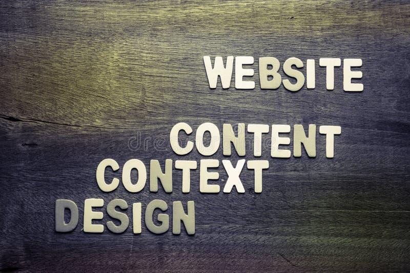 Sito Web della costruzione fotografie stock libere da diritti