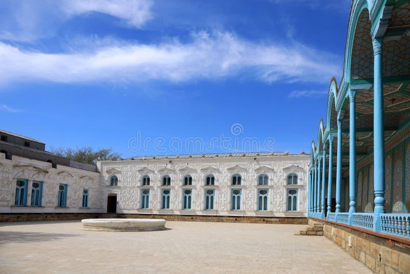 Sitorai Mohi-Hosa pałac w Bukhara zdjęcie royalty free