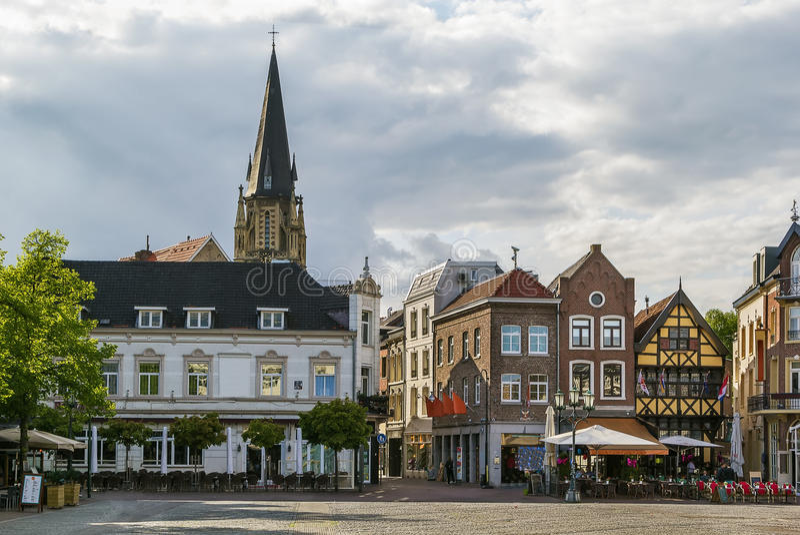 Sittard-Geleen Nederländerna royaltyfria foton