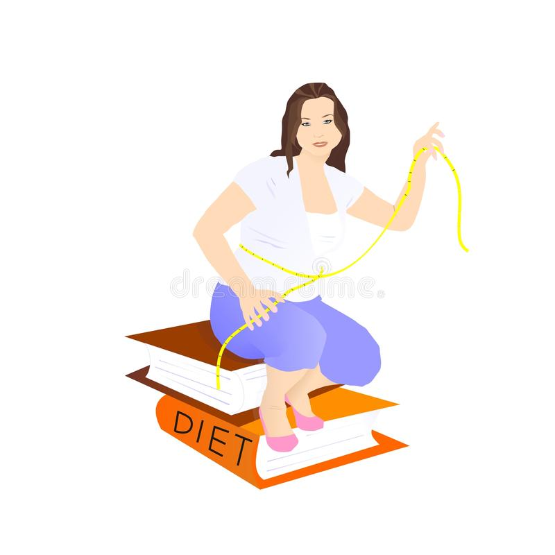 Download Sitting On A Diet Stock Image - Image: 15770241