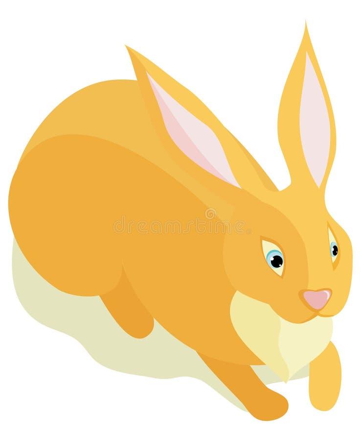 Download Sitting fluffy rabbit stock vector. Image of mammal, design - 16702753