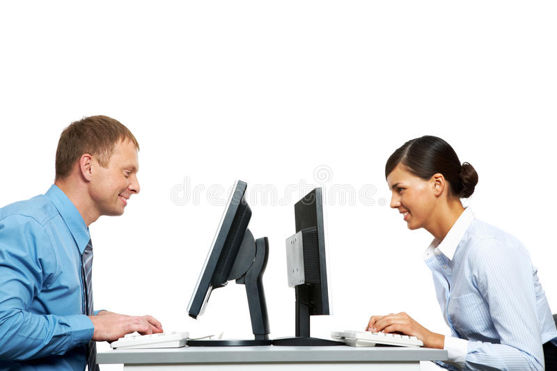 Download Sitting Opposite Stock Images - Image: 25443134