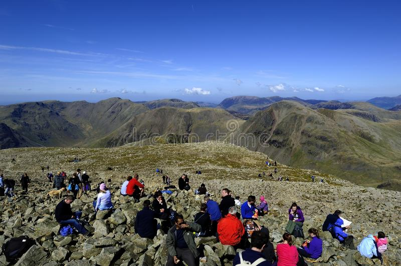 Download Sitting On Scafell Editorial Photo - Image: 41073036