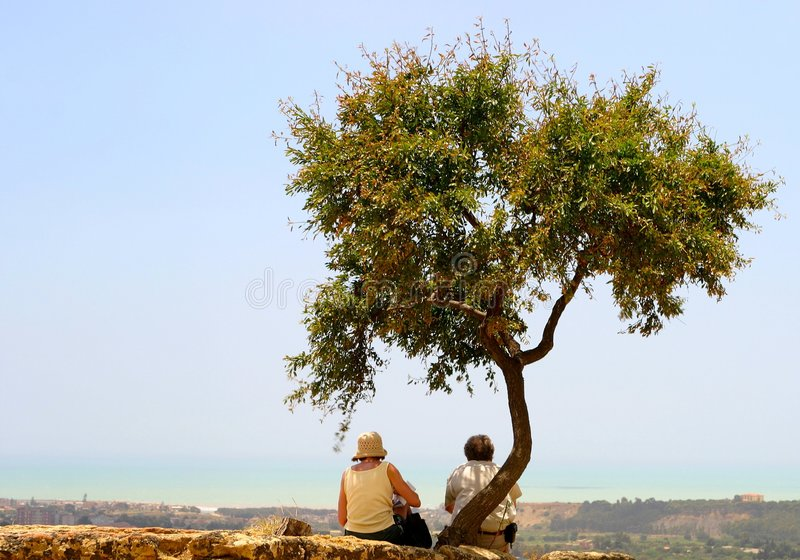 Download Sitting On Top Of Mountain Royalty Free Stock Photo - Image: 15355