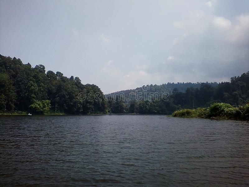 SituGunung Lake stock photo