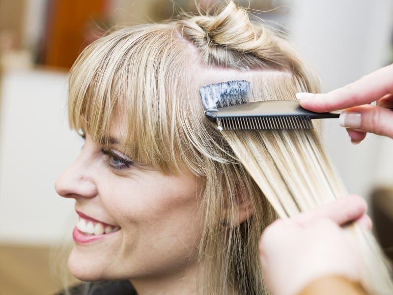 Situação do salão de beleza do cabelo fotos de stock royalty free