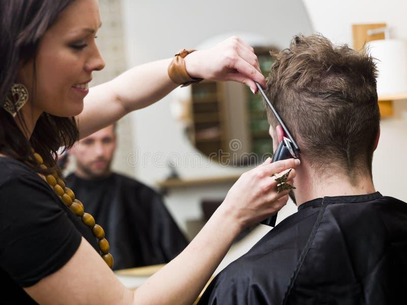 Situação do salão de beleza do cabelo imagem de stock