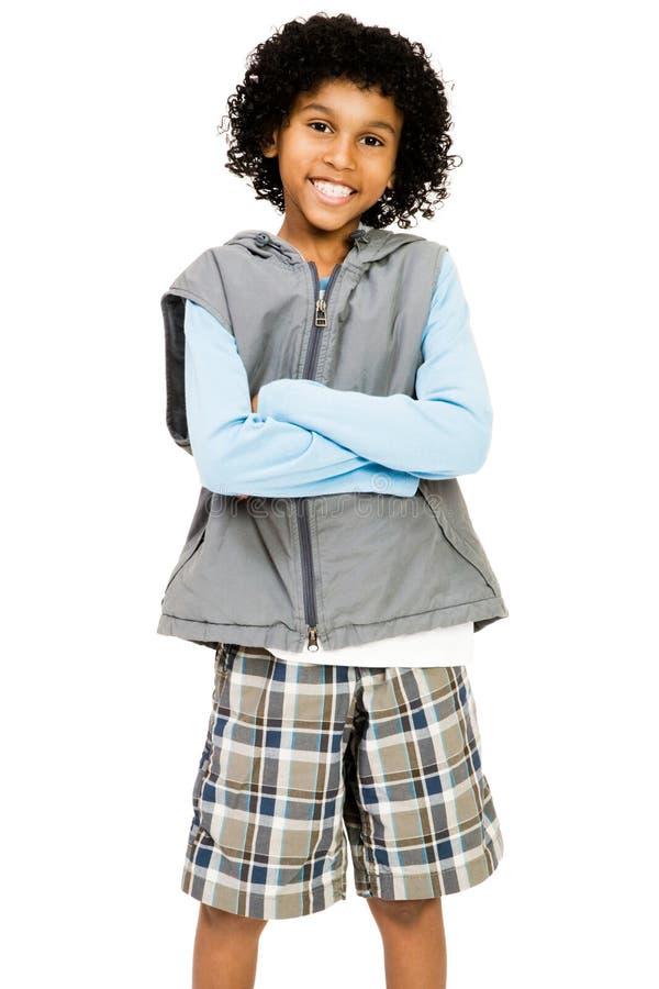 Situación del muchacho fotografía de archivo libre de regalías