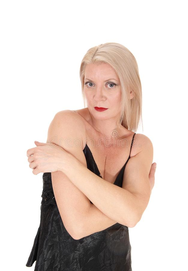 Situación magnífica del frente, cintura de la mujer para arriba imagen de archivo libre de regalías
