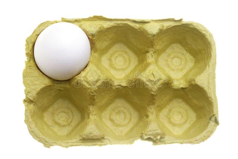 Situación pasada del huevo fotos de archivo