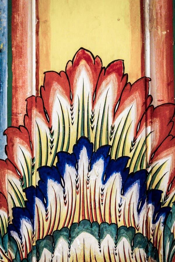 Painting At Diggi Palace, Jaipur royalty free stock photography