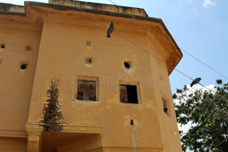 Situation de voisinage autour d'Amer Amber Fort à Jaipur photo libre de droits
