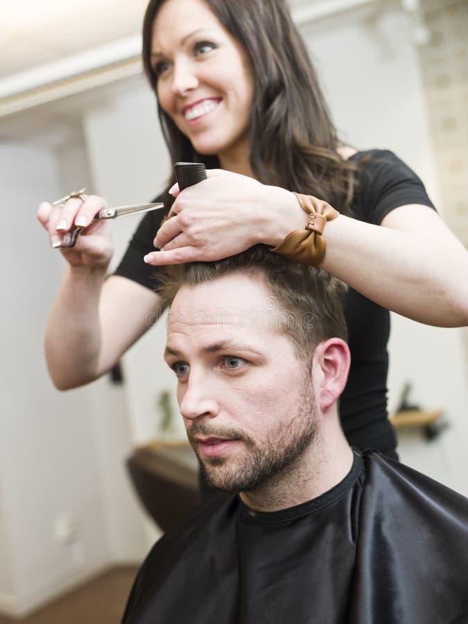 Situazione del salone di capelli fotografia stock libera da diritti