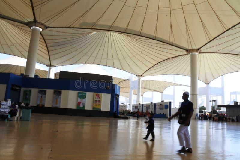 situazione dell'aeroporto di Jedda Internationa immagine stock