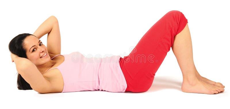 Download Situps foto de stock. Imagem de toned, slimming, lifestyle - 12807420