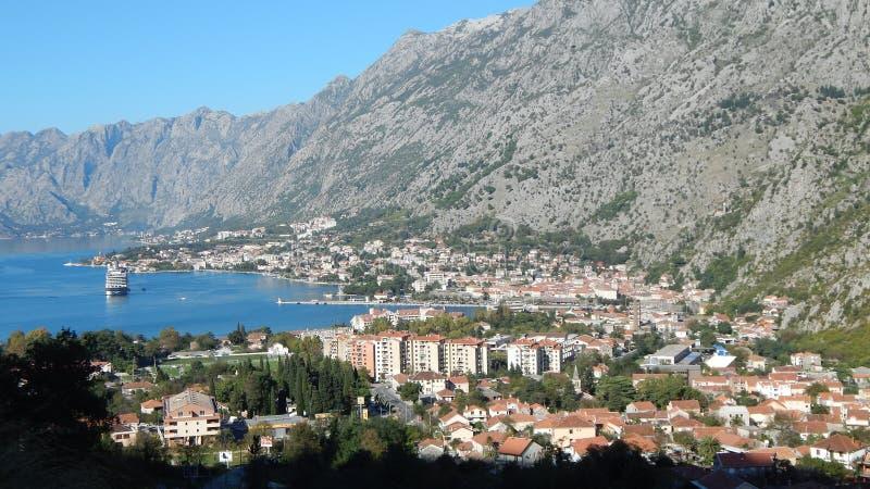 Sity de Kotor dans Monténégro photo stock