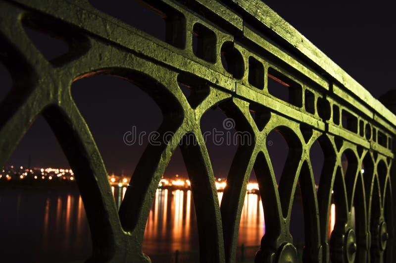 Sity de la noche foto de archivo libre de regalías