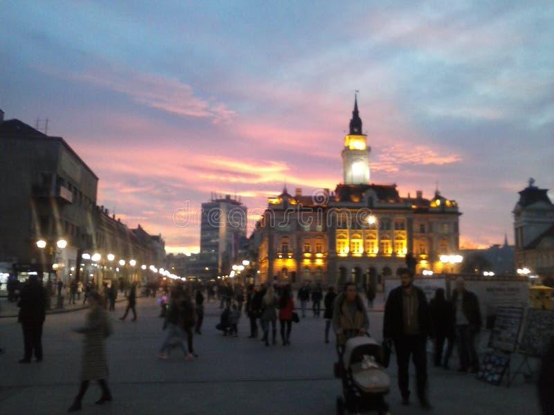 Sity holl - Novi Sad royalty free stock image