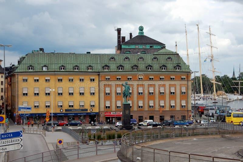 Sityscape av Stockholm royaltyfria bilder