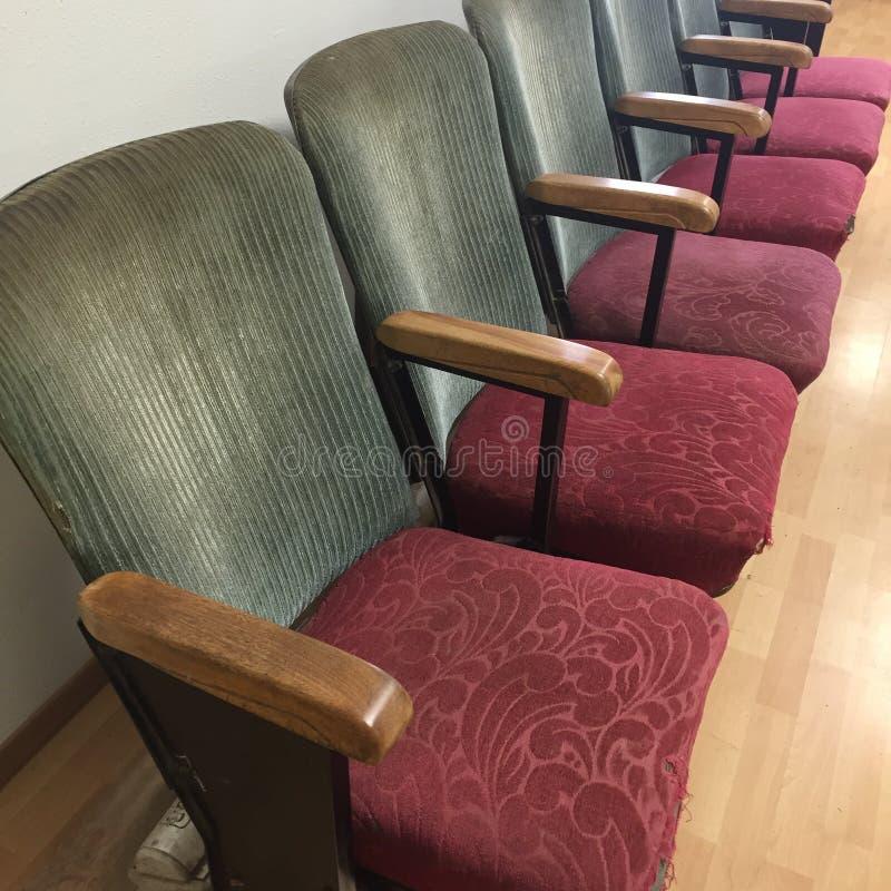 Sitz der ersten Reihe stockbild