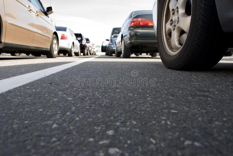 Sitzen im Verkehr stockbilder