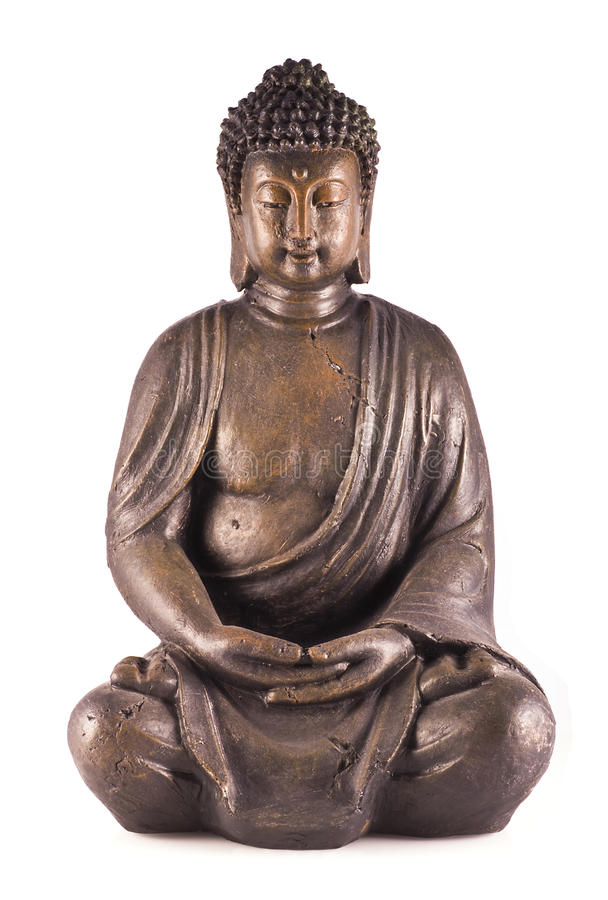 Sitzender Buddha. stockbild