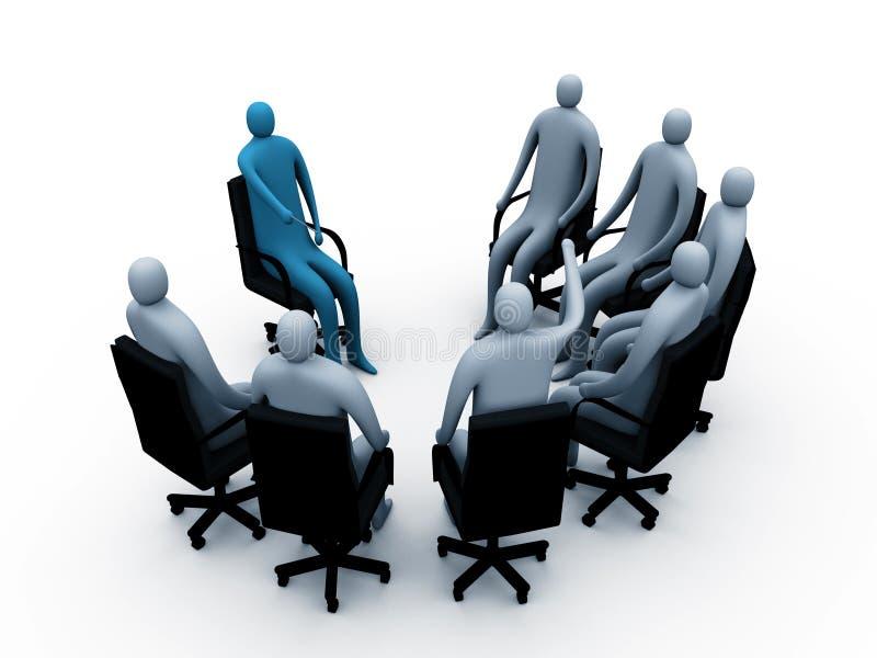 Sitzung #2 lizenzfreie abbildung
